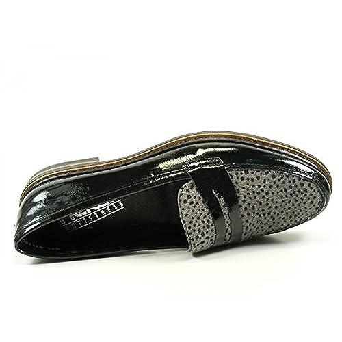 Rieker 50662-01 pantoufles femme