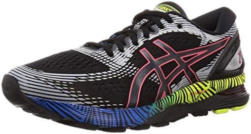 cortesía Motivación Porra  ASICS Gel-Nimbus 21 LS, Men's Road Running Shoes, Multicolour  (Black/Electric Blue), 45 EU: Buy Online at Best Price in UAE - Amazon.ae