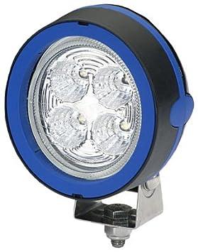 12V//24V HELLA 1GM 996 136-311 Mega Beam LED 800 Lumen 4 LEDs mattschwarz beschichtetes Aluminiumgeh/äuse LED Arbeitsschweinwerfer stehender Anbau Nahfeldausleuchtung