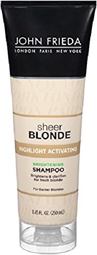 Price comparison product image John Frieda Sheer Blonde Honey Caramel Highlight Activating Shampoo, 8.45 oz