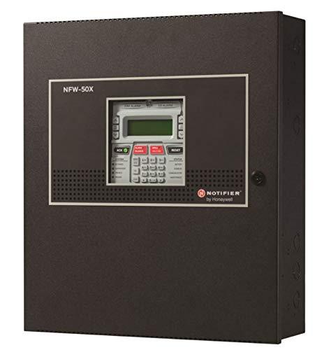 Notifier NFW-50X Intelligent Addressable Fire Alarm Control Panel (FACP), Black