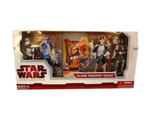 - Star Wars Legacy Collection Exclusive Clone Trooper Squad