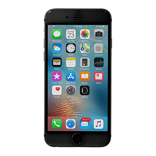 Apple iPhone 6 64GB Unlocked GSM Phone - Space Gray (Renewed)