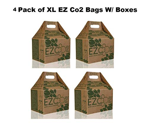 Natural Generator Co2 - 4pc / CASE XL EZ CO2 Bags Natural CO2 Production High Yield Generator (USA - LOWER 48 STATES ONLY)