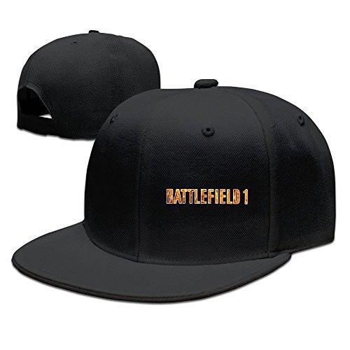 Price comparison product image Cool Battlefield 1 Fire Adjustable Baseball Cap (8 Colors) Black
