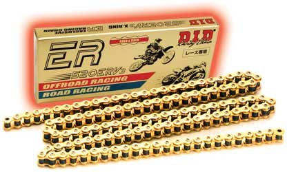 D.I.D Connecting Link for 520 ERV3 Series Racing Sealed Chain - Natural 520ERV3 MASTER LINK (Sealed Racing)