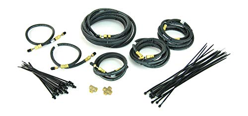 Sturdy Built Tandem Axle Long 24ft Trailer Brake Line Kit with Flexible Hydraulic Rubber Hoses Disc Or - Line Axle