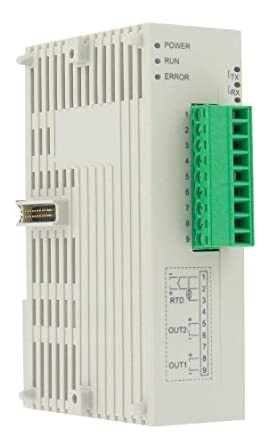 Love DIN Rail Temp/Proc Slave Controller, SCD-2033, 2 Relay Outputs