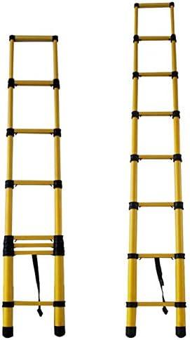 Escaleras Telescópicas Escalera Telescópica De Fibra De Vidrio Extra Alta De 5 M / 16,4 Pies, Escalera No Conductora De Extensión Multiusos Resistente For Cargas De Ingeniería (Size : 5m/16.4ft): Amazon.es: Bricolaje