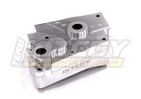 Nitro Rustler Accessories - Integy RC Model Hop-ups T6766SILVER Alloy Gearbox Set for Nitro Rustler