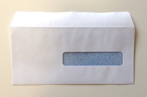 CMS 1500 - HCFA Self-Seal Window Envelopes for Claim Forms (No. 10-1/2) 4-1/2