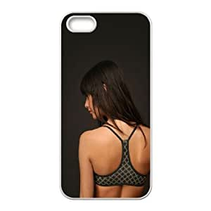 iPhone 4 4s Cell Phone Case White hc53 mayra suarez mexican model found her searching suarez JNR2246147