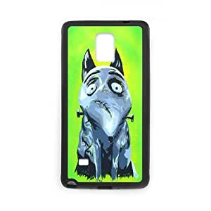 Samsung Galaxy Note 4 Case Black Frankenweenie Cell Phone Case Cover F5S8NK