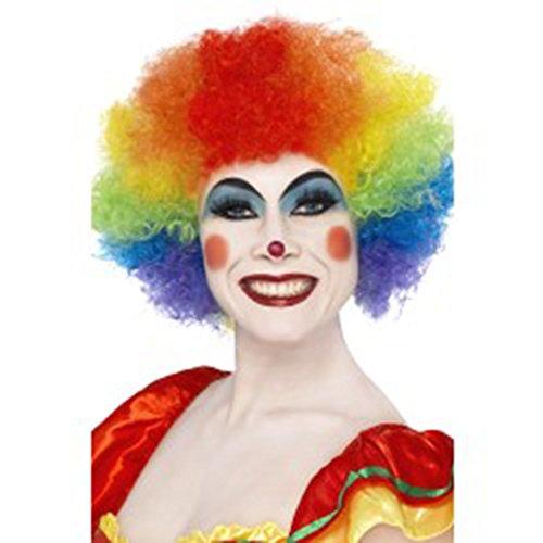 Clown Hair Wig (Smiffys Crazy Clown Wig)