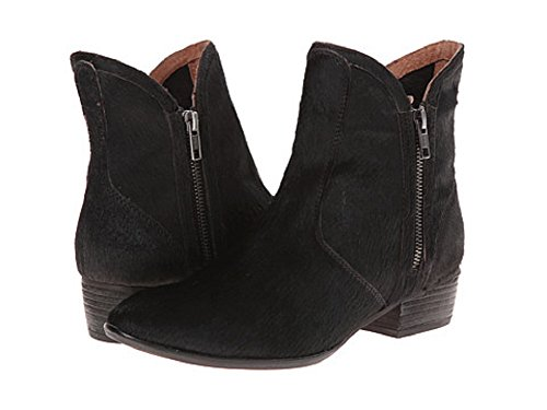 Seychelles Lucky Penny Booties Black Leather 7m