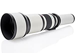 Opteka 650-1300mm (with 2x- 1300-2600mm) Telephoto Zoom Lens for Nikon D5, D4, D810, D800, D750, D700, D610, D600, D300, D7200, D7100, D5500, D5300, D5200, D5100, D3300 and D3200 Digital SLR Cameras