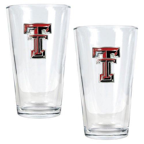 NCAA Texas Tech Red Raiders Two Piece Pint Ale Glass Set