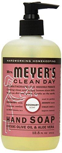 Mrs. Meyers Liquid Hand Soap - Rosemary - 12.5 oz - Pack of