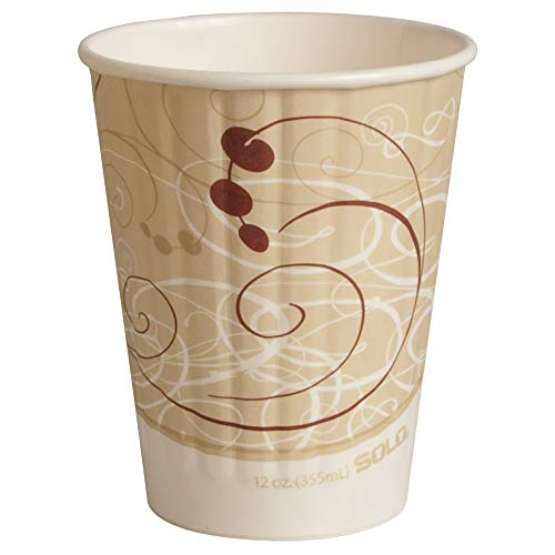 (Solo IC12-J8000 12 oz Symphony Duo Shield insulated Paper Hot Cup (Case of 600))