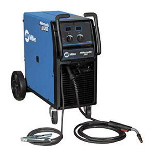 Miller Millermatic 252 MIG Welder, 200 V 200 Amps At 28 Volt At 60% Duty Cycle Single Phase 207 lb,