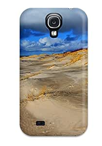 Excellent Design Stormy Beach Case Cover For Galaxy S4