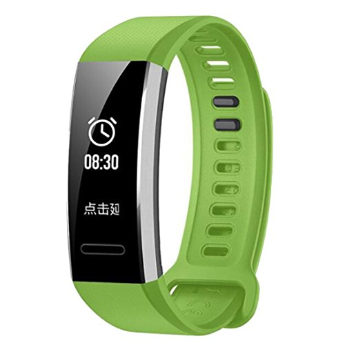 Price comparison product image Boofab For Huawei Band 2 Pro Band,  Classic Silicone Replacement Band Wrist Strap For Huawei Band 2 / Band 2 pro Smart Watch (Green)