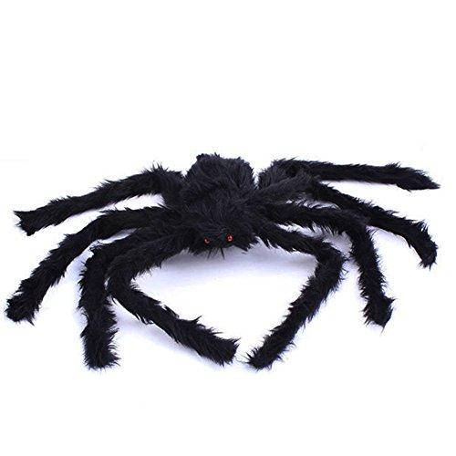 Black Spider Halloween Decoration Haunted House Prop Indoor Outdoor