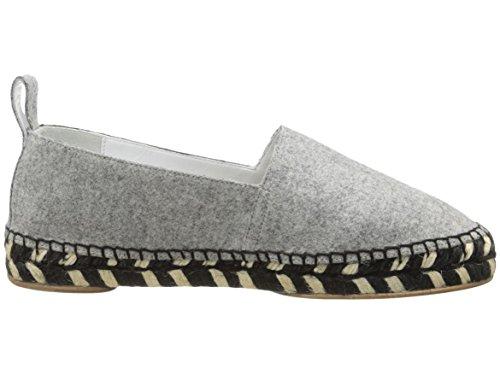 Proenza Schouler Gray Felt Espadrille Shoes 40 by Proenza Schouler