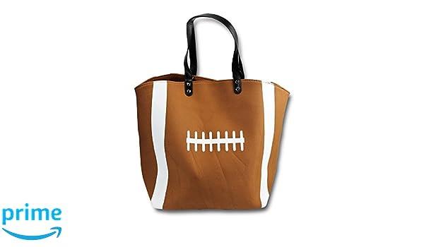 fbf1bf6924 Knitpopshop Baseball Canvas Tote Bag Handbag Large Oversized Mom Iron Bands