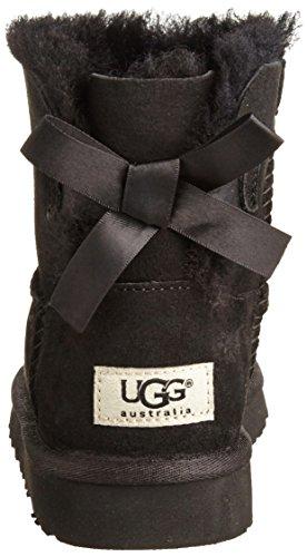 nero Ugg Australia Classiques Mixte Bottes Noir Bow Enfant Mini Bailey g4wzHg