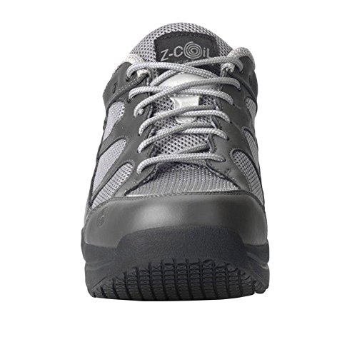 Resistant Shoe Pain Z Relief Gray Leather Slip Coil Women's Tennis Footwear Gray Liberty Enclosed CoiL 4xqZgOw0