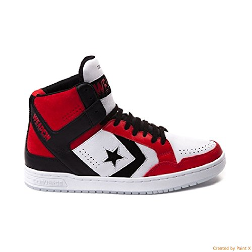 71e5a4de6d3a Converse Weapon Mid Dr. J Basketball Sneakers Red  Amazon.co.uk  Shoes    Bags