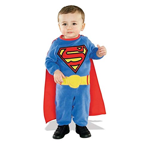 Rubies Costume Co Superman Baby Infant Costume,Blue,Toddler -
