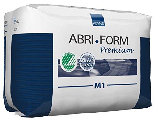 Abena Abri-Form Premium Incontinence Briefs, Medium, M1, 26 - Form 1 M1