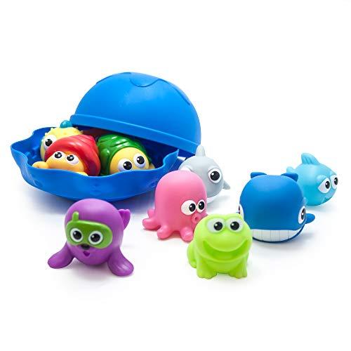 Fat Brain Toys Aqua Pals Squirt andScoop Play Set - Aqua Pals Squirt & Scoop Play Set