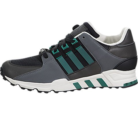 adidas Men's Equipment Running Support Cblack/Subgrn/Cwhite Running Shoe 10.5 Men US