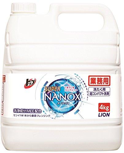 8位.トップ スーパーナノックス 洗濯洗剤
