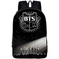 حقيبة ظهر كاجوال انيقة بنمط فريق بي تي اس الغنائي الكوري لطلاب المدارس الابتدائية والثانوية