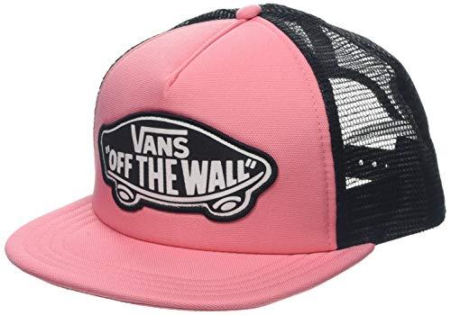 (Vans Beach Girl Trucker Hats - Women's, Strawberry Pink, One Size, VN000H5LUV6-OS)