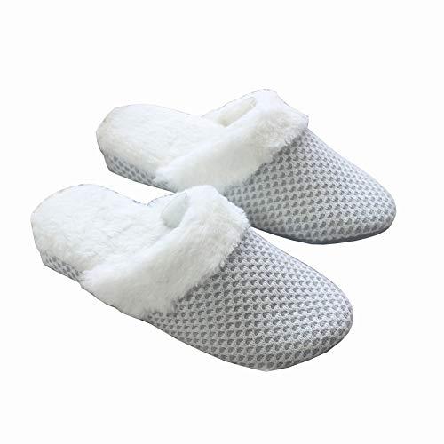 Cotone Maglia Chiaro Cunei Ciabatte Grigio Casa E Deed Di Autunno Inverno  pantofole Pantofole Donne Caldo Antiscivolo Pavimento pwXtxqH 566f74c53c0