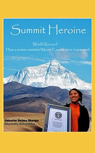 Summit Heroine: World Record: How a woman summited Mount Everest twice in one week (Guide Sherpa)