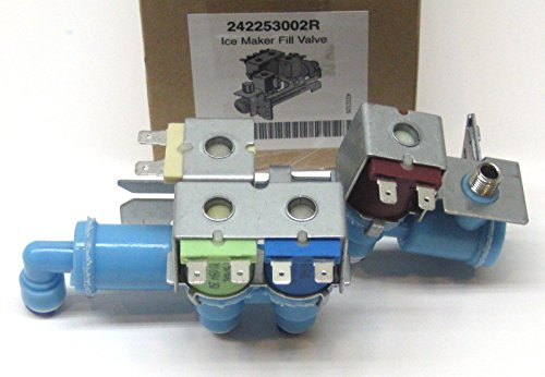 Price comparison product image (KAS) Replacement Water Inlet Valve for Electrolux Frigidaire 242253002 AP5669874 PS7321353