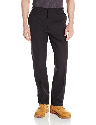 Red Kap Men's Elastic Insert Work Pant, Black, 42W x 32L ()