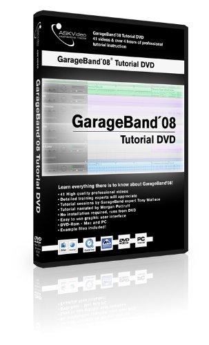 GarageBand 08 Tutorial DVD ASK-Video (Apple Garageband Loops)