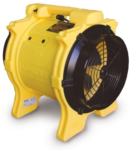 Axial Blower Ventilation (Dri-Eaz F174 Vortex Axial 1.0 HP Ventilation Fan (Color may vary))