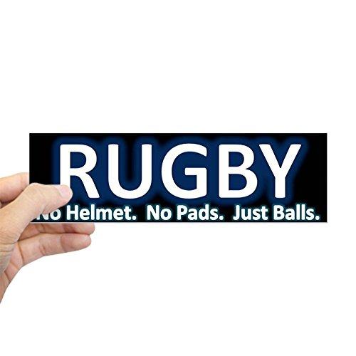 CafePress - Rugby Bumper Sticker - 10