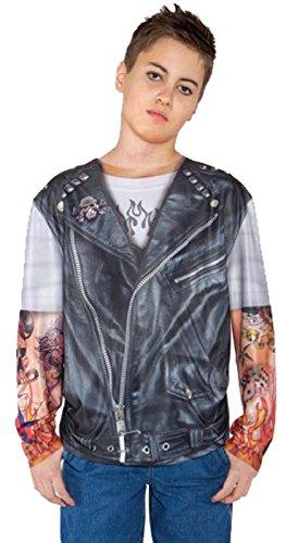 Underwraps Kids Biker T-Shirt]()
