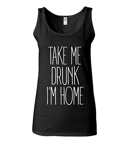 icustomworld Womens Drunk White Drinking