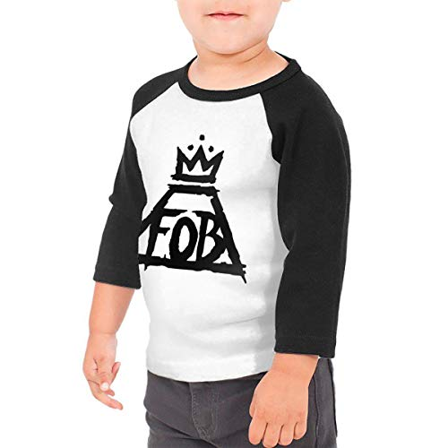 Reppusily Kid's Fall Out Boy Humor 3/4 Sleeve