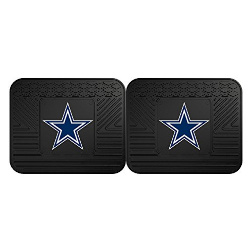 FANMATS 12299 NFL - Dallas Cowboys Utility Mat - 2 Piece (Nfl Cowboys Mats Dallas Car)